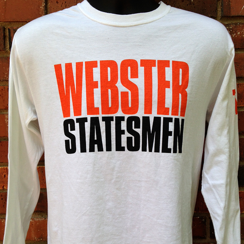 Webster Statesmen Comfort Colors White Crew Neck Shirt