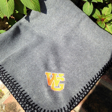 WG Grey Fleece Stadium Blanket