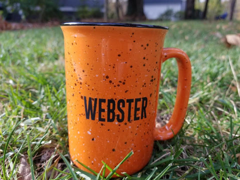 Webster Orange Camper Mug 14 oz
