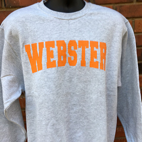Grey Webster Crew Sweatshirt