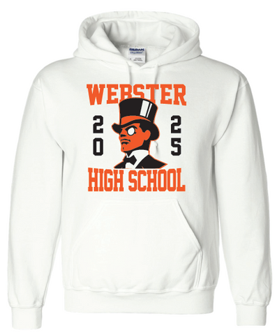 Class of 2025 Hoodie (FOR DELIVERY: Student Name and Hixson Team in comments)