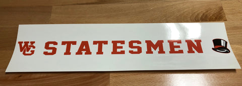 Acc. - Decal Statesmen - RECTANGLE