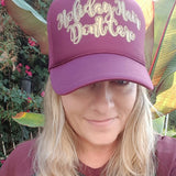 Holiday Hair Don't Care Trucker Hat -  - Sweet or Spicy Apparel - 8