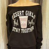 DESERT GIRLS Sweatshirt -  - Sweet or Spicy Apparel - 1