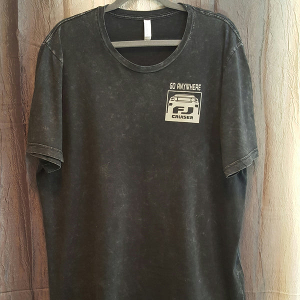FJ Compass Tee - Mineral Wash - Small - Sweet or Spicy Apparel - 1