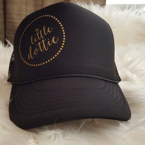 a little dottie Trucker Hat