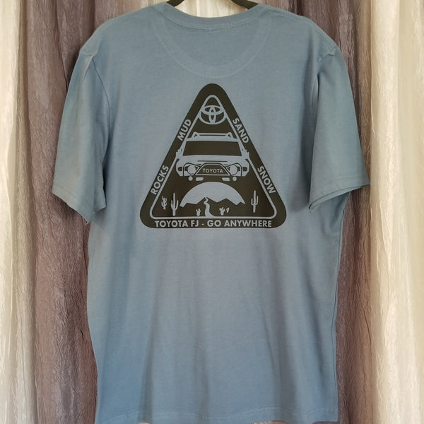 FJ Offroad Rock Mud Sand Snow Tee