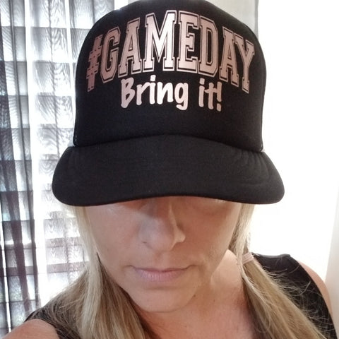 GAME DAY Bring It Trucker Hat