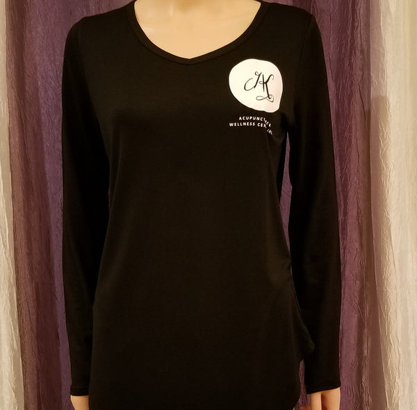 Angela Kung Acupuncture & Wellness Inc. Long Sleeved Tee
