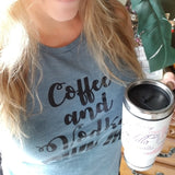 Coffee and Vodka OWN ME Muscle Tee