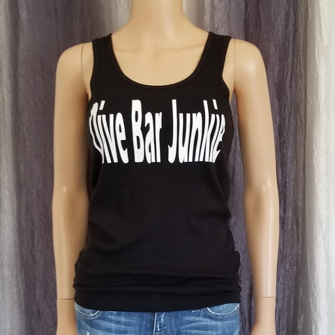 DIVE BAR JUNKIE Ribbed Tank
