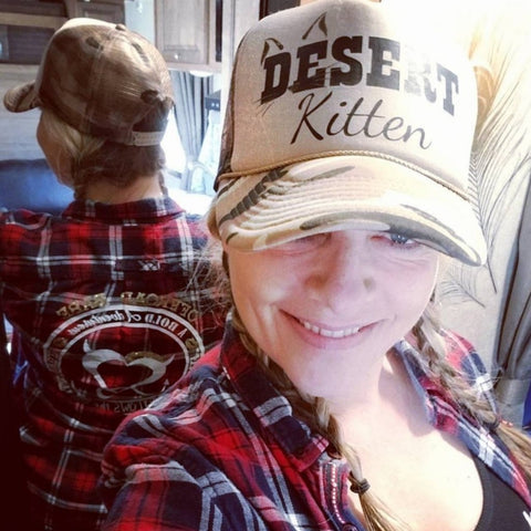 Desert Kitten Trucker Hat