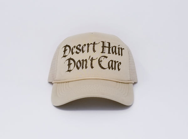 Desert Hair Don't Care Trucker Hat