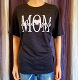 MOM (kids names added per request) Tee