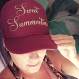 Sweet Summertime Trucker Hat