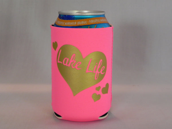 Lake Life Koozie -  - Sweet or Spicy Apparel - 1
