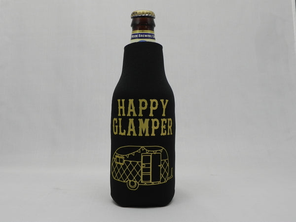 HAPPY GLAMPER Zippered Bottle Koozie -  - Sweet or Spicy Apparel - 1