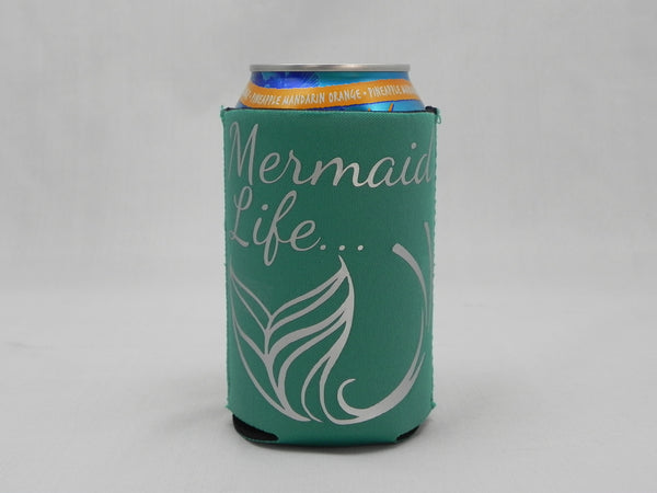 Mermaid Life Koozie -  - Sweet or Spicy Apparel