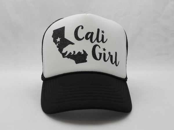 Cali Girl Trucker Hat -  - Sweet or Spicy Apparel - 4
