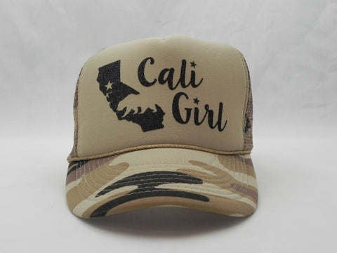 Cali Girl Trucker Hat -  - Sweet or Spicy Apparel - 1