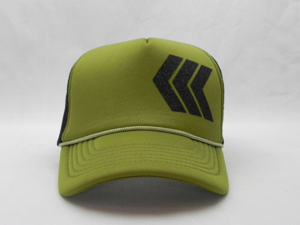 Chevron Stripes Trucker Hat -  - Sweet or Spicy Apparel - 1