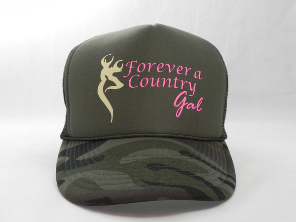 Forever a Country Gal Trucker Hat -  - Sweet or Spicy Apparel - 1