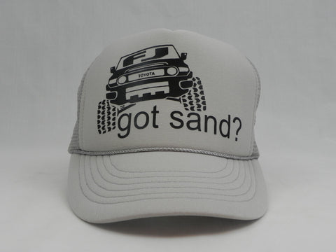 FJ Got Sand? Trucker Hat -  - Sweet or Spicy Apparel - 1