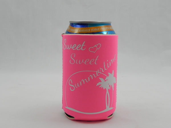 Sweet Sweet Summertime Koozie -  - Sweet or Spicy Apparel - 1