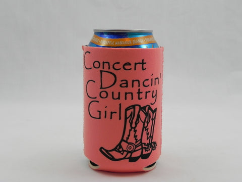 Concert Dancin' Country Girl Koozie -  - Sweet or Spicy Apparel - 1