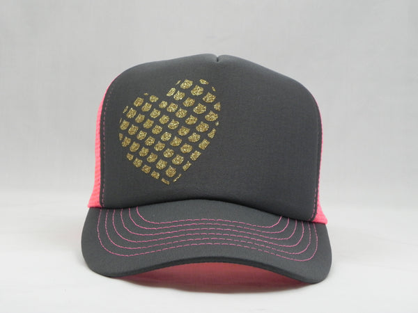 Mermaid Heart Trucker Hat