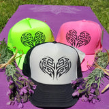 Tribal Tree of Life Trucker Hat -  - Sweet or Spicy Apparel - 7