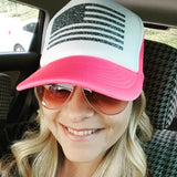 Flag Trucker Hat -  - Sweet or Spicy Apparel - 5