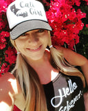 Cali Girl Trucker Hat -  - Sweet or Spicy Apparel - 6