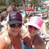 Good Times Tan Lines Trucker Hat -  - Sweet or Spicy Apparel - 4
