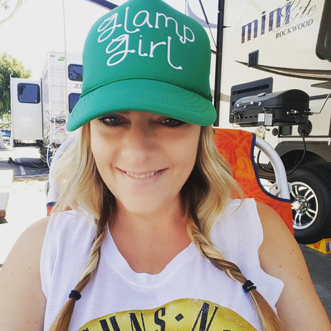 Glamp Girl Trucker Hat -  - Sweet or Spicy Apparel - 7