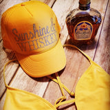 Sunshine & Whiskey Trucker Hat