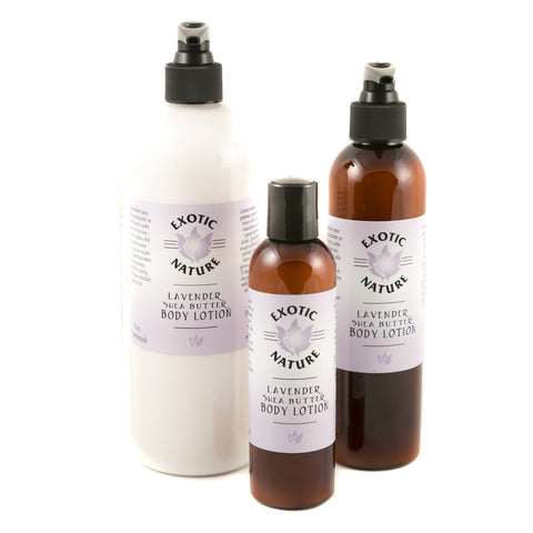 Exotic Nature Lavender Shea Butter Lotion