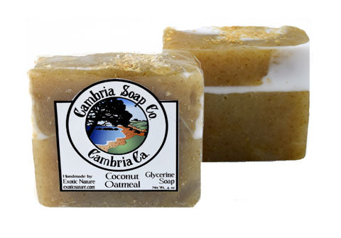 Coconut Oatmeal Glycerine Soap