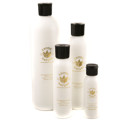ORGANIC SPA BODY LOTION with OLIVE AND GRAPESEED:  Add Essential Oil