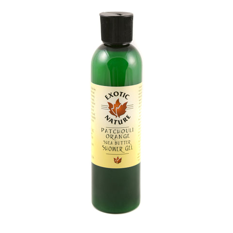 Exotic Nature Patchouli Orange Shea Butter Shower Gel