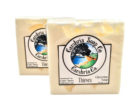 Thieves Shea Butter Glycerine Soap