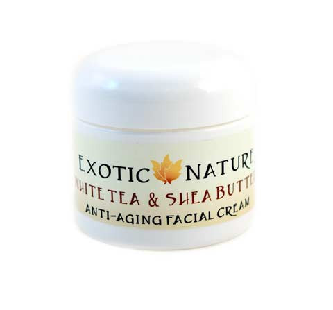 White Tea & Shea Butter Anti-Aging Facial Cream