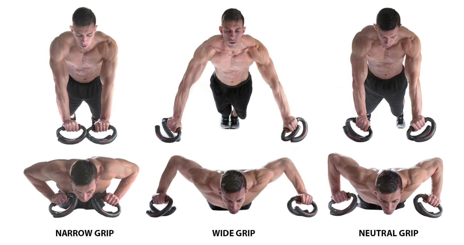 LEGEND PUSHUP DEMONSTRATION