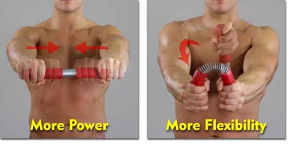 LEGEND ARM ADVANCED EXERCISE Power Flexibility