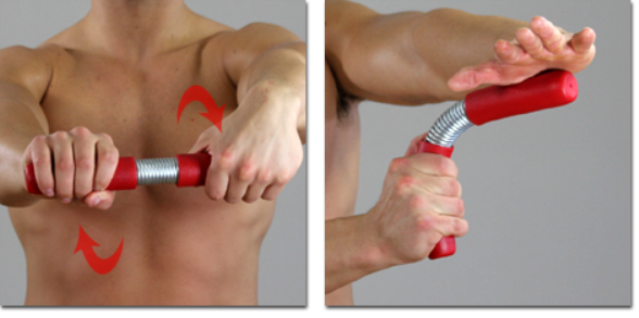 LEGEND ARM Exercise Wrist Flexion Extension Ulnar Deviation