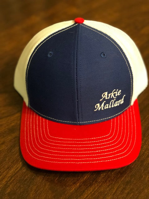 Cap - Red, White and Blue