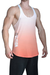 Orange Crush Stringer Tank Top