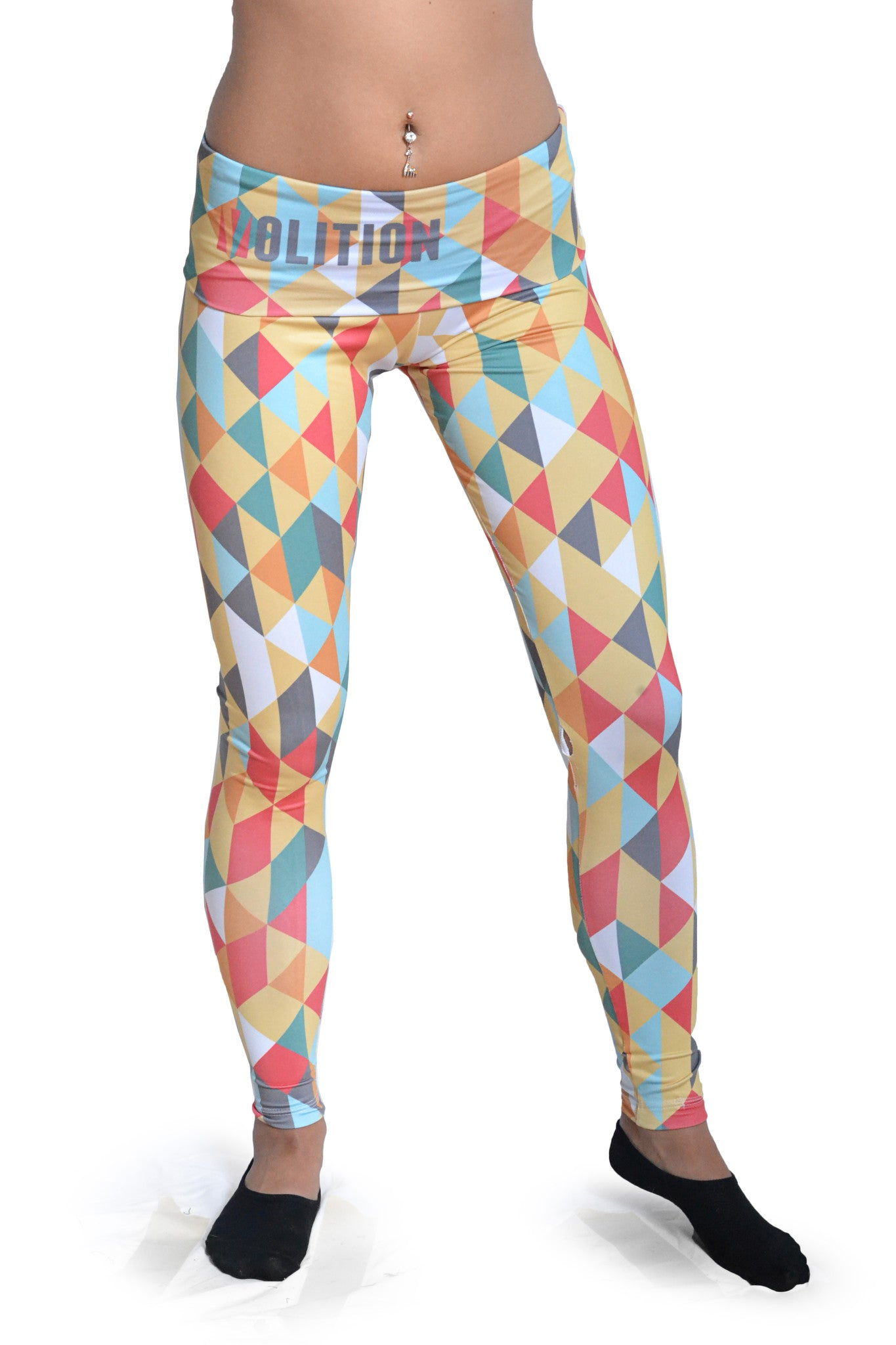 Women's Graphic All Over Print Sahara Yoga Leggings