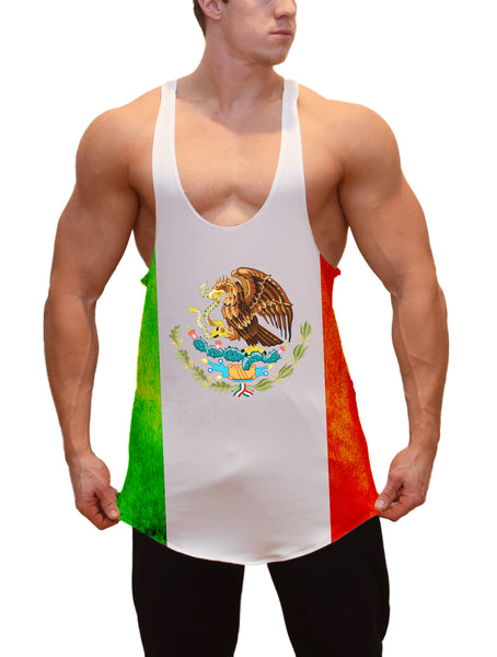 Flag of Mexico Stringer Tanktop