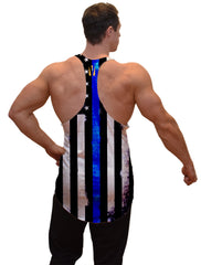 Thin Blue Line Stringer Tanktop